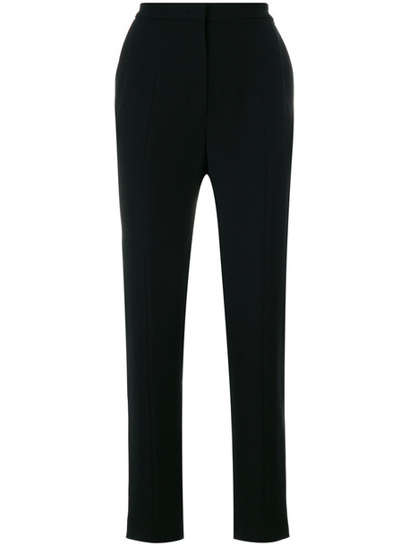 high waisted high women black pants