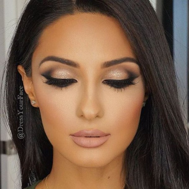 make up blush cheek blush matte lipstick nude lipstick glitter eye shadow eye lash. Black Bedroom Furniture Sets. Home Design Ideas