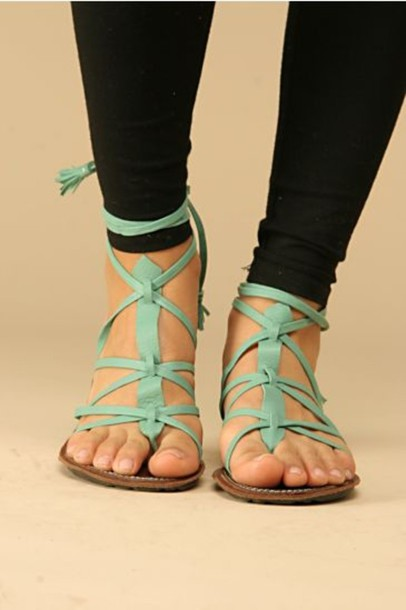 85a55881cf90 shoes strappy sandals mint teal summer blue sandals green sandals cute shoes  light blue sandals mint