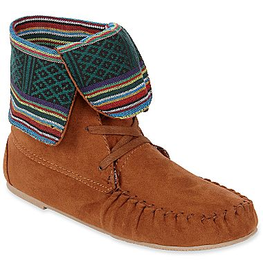 Olsenboye® Noha Moccasin Boots - jcpenney