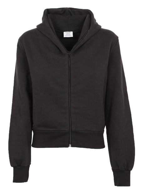 Vetements hoodie zip black sweater