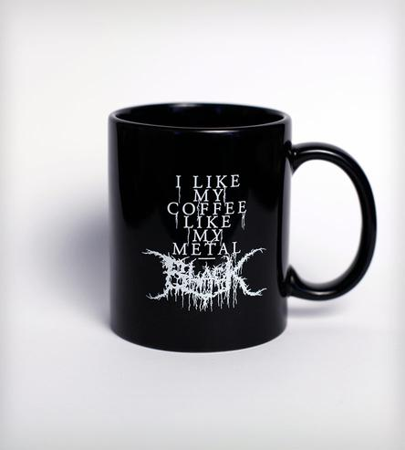 Black Metal Coffee Mug | Collections Plates & Pints by Food Republic | Knifemen | Scoutmob Shoppe | Product Detail