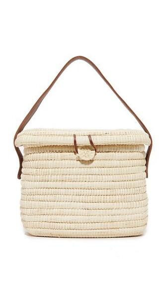 basket bag bag camel