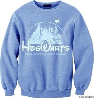 harry potter hogwarts sweater