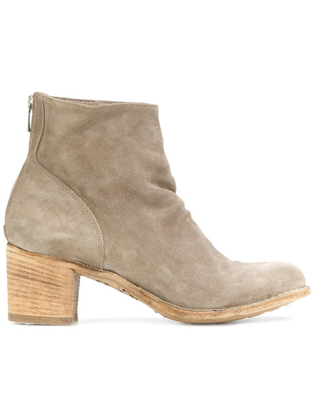 women ankle boots leather nude suede shoes