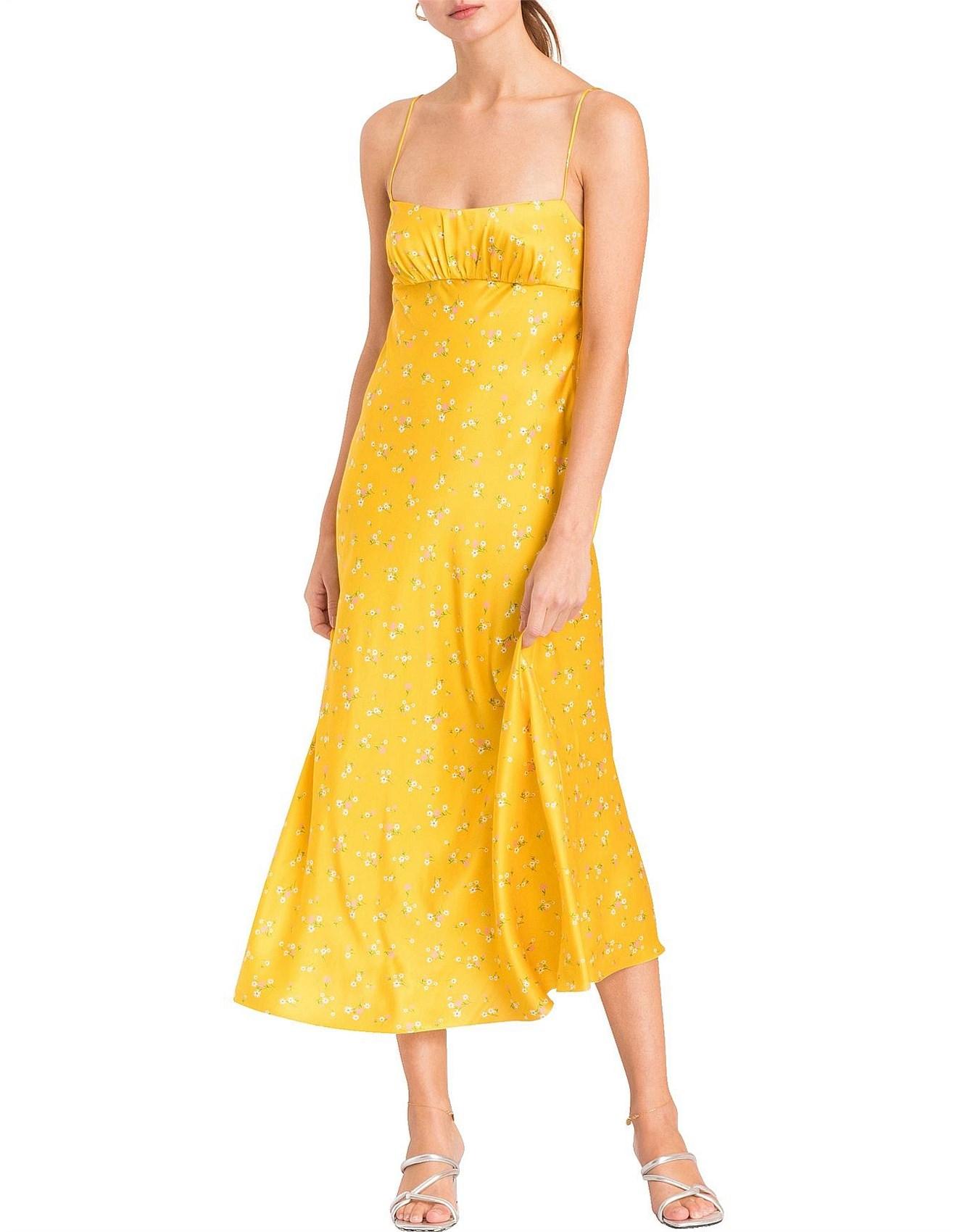 Bec & Bridge | Buy Bec & Bridge Clothing Online | David Jones - Only In Paris Slip Dress