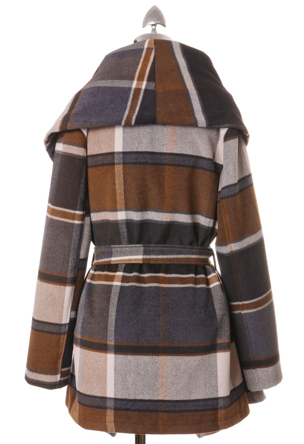 Prairie Check Rabato Coat by Chic  - Retro, Indie and Unique Fashion
