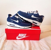 shoes,navy,mens shoes,nike shoes,nike sneakers,air max
