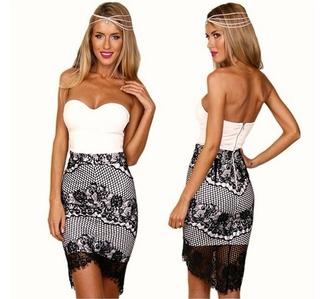 dress onepiece tubedress selina
