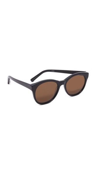 sunglasses black brown