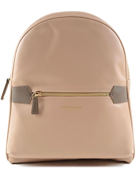 Longchamp backpack nude bag
