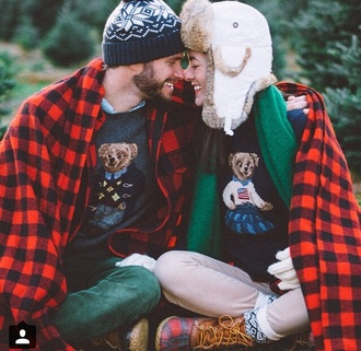 hat sweater boots timberlands plaid beanie gloves scarf pants hipster menswear menswear hipster boyfriend classy girls wear pearls fur hat camping