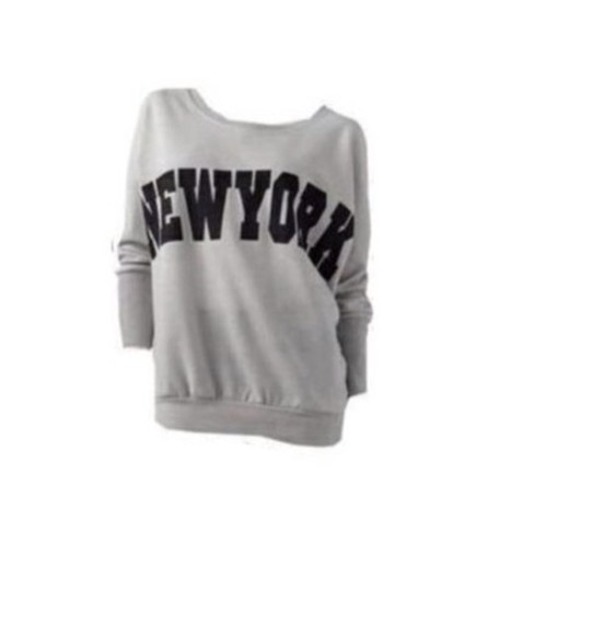 sweater grey new york