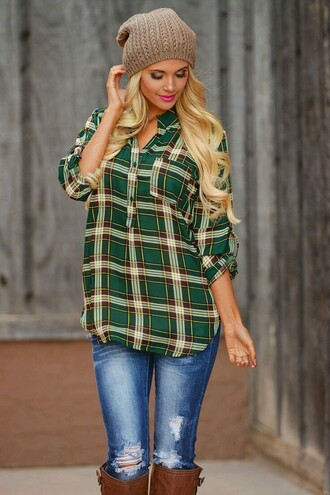 shirt oversized fall outfits boots flannel