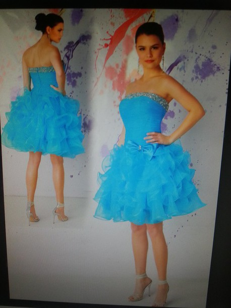 dress blue damas dress