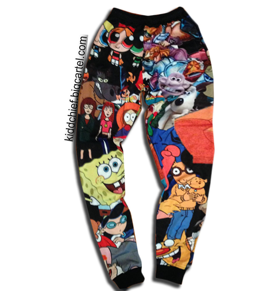 Cartoon joggers