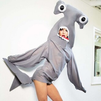 top halloween costume costume kendall jenner shark