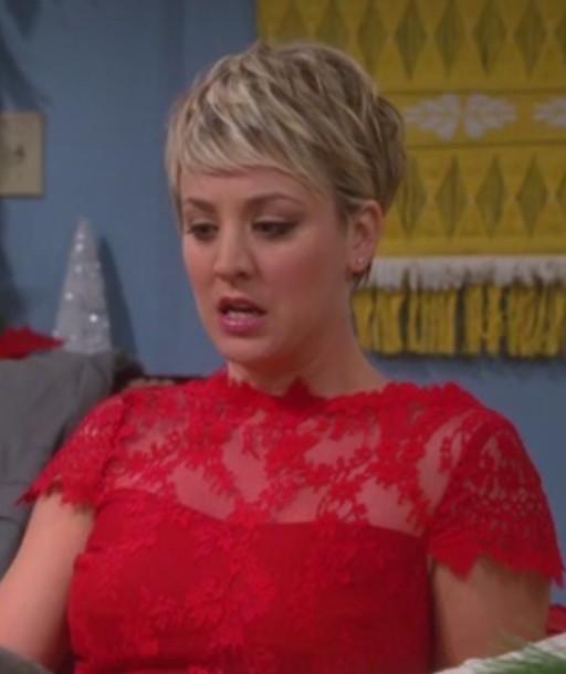 Dress Big Bang Theory Kaley Cuoco Wheretoget