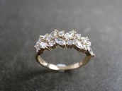 jewels,ring,jewelry,silver,diamonds,leaves,beautiful,gold,engagement ring