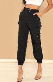 pants,girly,girl,girly wishlist,black,joggers,cargo pants,sweatpants,joggers pants