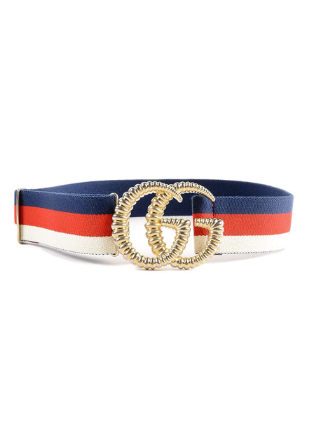 Gucci Elastic Belt 40mm in red / white