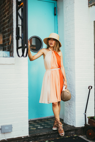 not jess fashion blogger dress shoes hat bag jewels