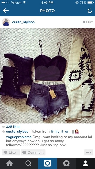 sweater whole outfit..