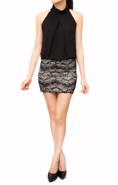Lexie Lace Skirt - Online Fashion Boutique in Singapore | Foxy Fame
