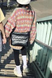 bag,black bag,kpop,hyuna,instagram,ig,pentagon,fashion,asian,asian fashion,style,90s style,hipster,women,mature look,mature,girl,black,korean style,korean fashion
