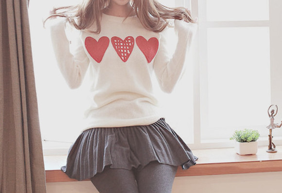 dress sweater black skirt white dress cute dress kawaii dress simple dress