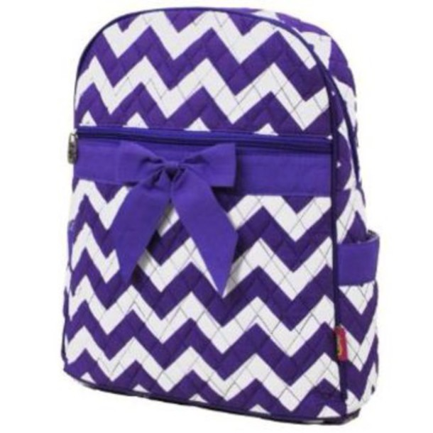 bag purple backpack