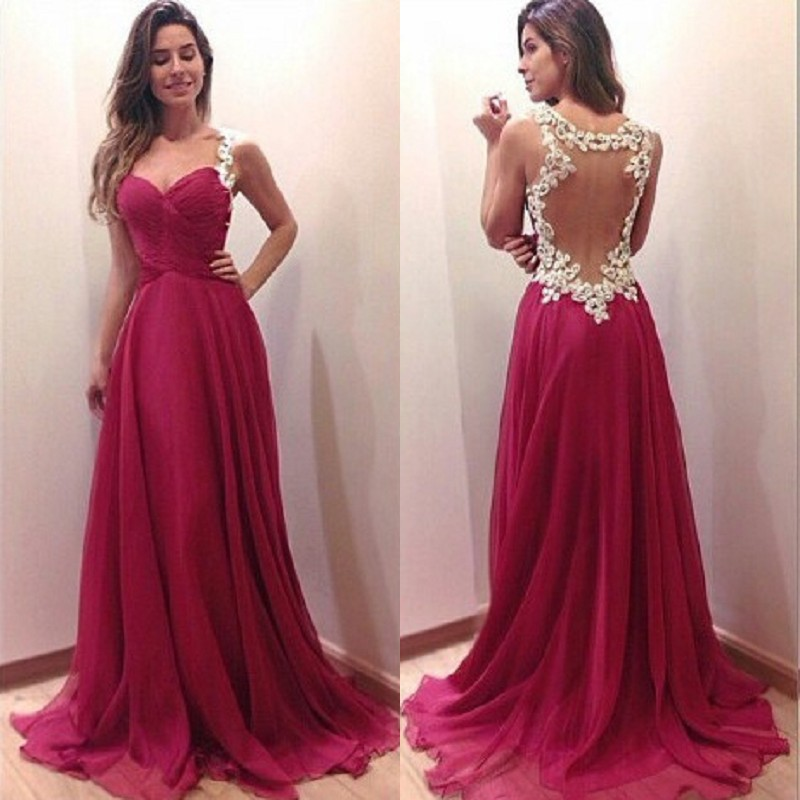Aliexpress Buy Formal Mother Of The Bridal Evening Dresses 2015 With Appliques A Line Beaded Bodice Sweetheart Open Back Prom Gowns For From