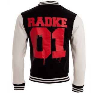 jacket ronnie radke band falling in reverse black white red