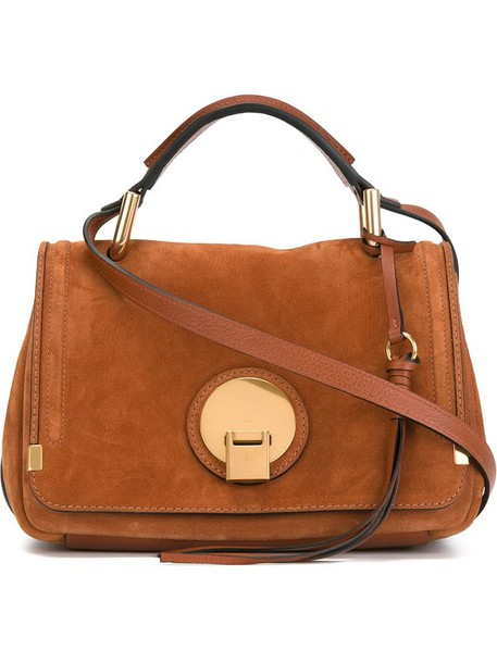 Chloe women brown bag
