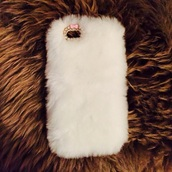 phone cover,furrr,iphone,white,iphone 5 case,make-up