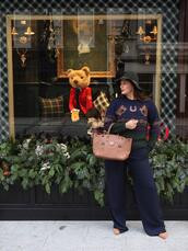 fashion foie gras,blogger,sweater,bag,pants