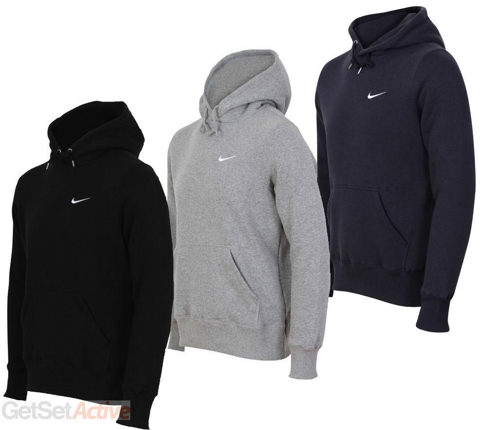 70c1aaaf46d1 Nike Swoosh Hoodie Hooded Sweatshirt MEN Sizes Small Medium Large XL Club