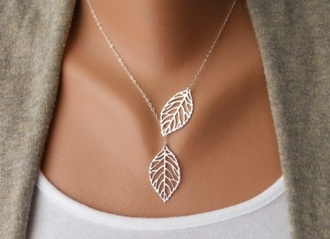 jewels jewelry silver floral nature cute pretty lovely necklace gold summer accessories