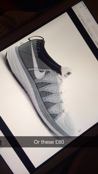 shoes grey trainers nike lunar