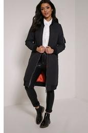 jacket,longline bomber