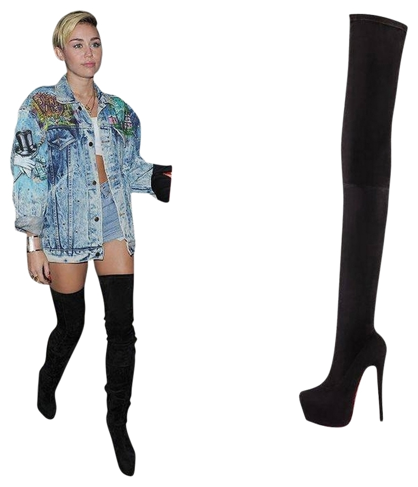 christian louboutin boots ariana grande