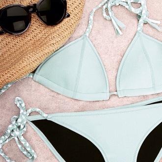 swimwear bikini style braided