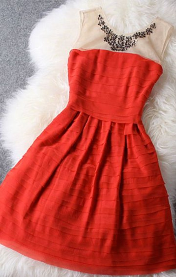 dress christmas red dress