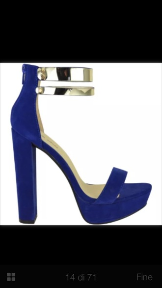 shoes heels high heels blue heels blue high
