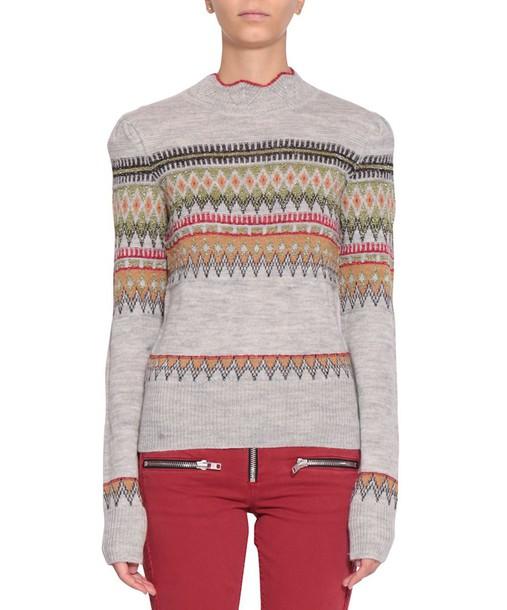 Isabel Marant etoile sweater wool multicolor