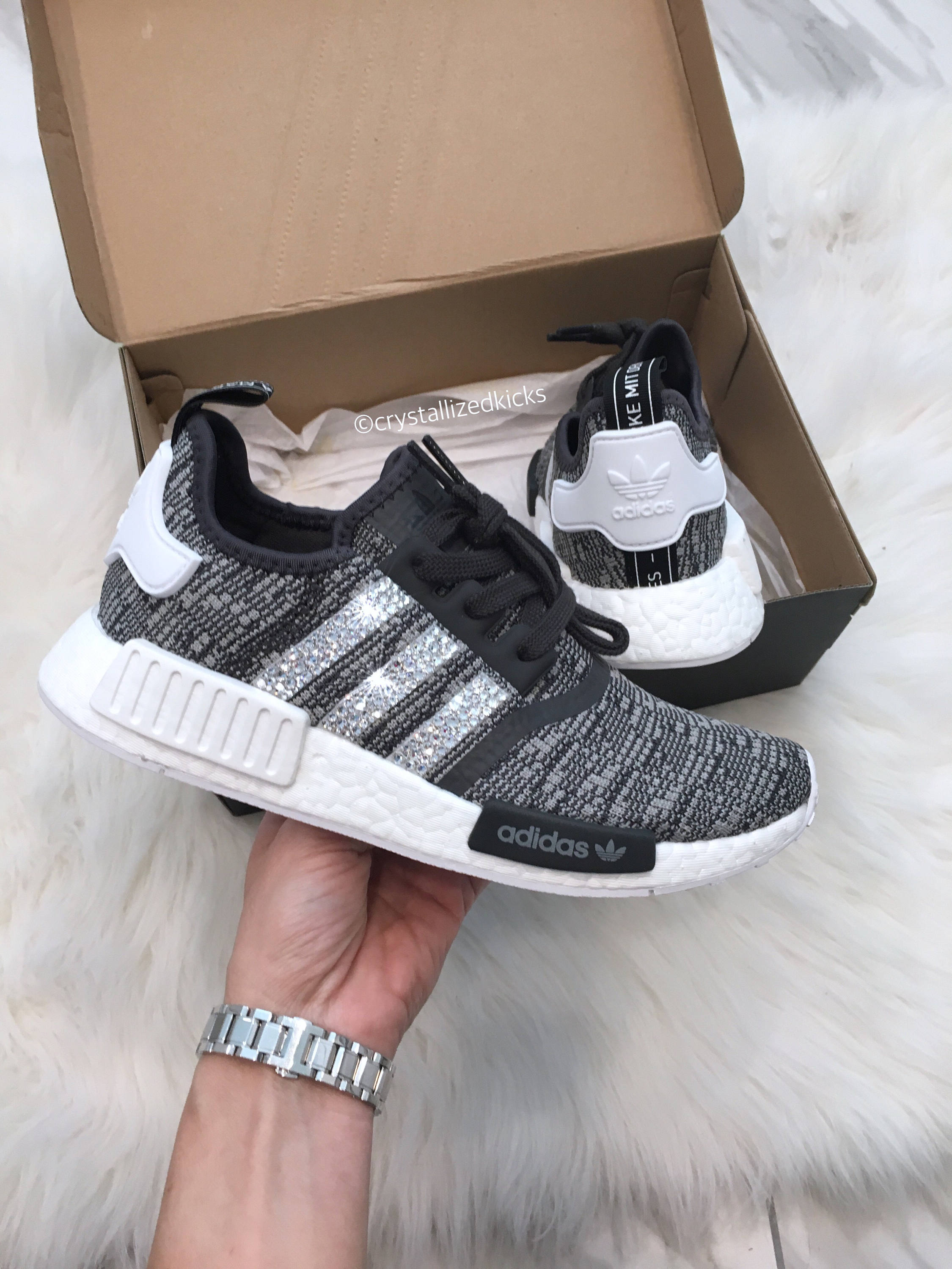 04cdb44d882a Adidas NMD Runner Made with SWAROVSKI® Xirius Rose Crystals ...