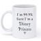 Im 99.9% sure im a disney princess mug