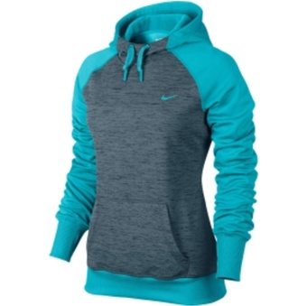jacket nike womens all time hoodie blue