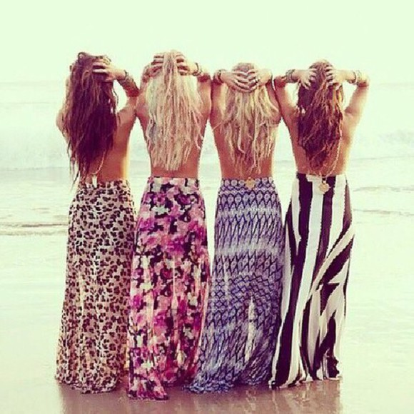 maxi skirt long