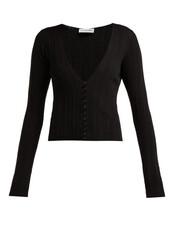 cardigan,black,wool,sweater